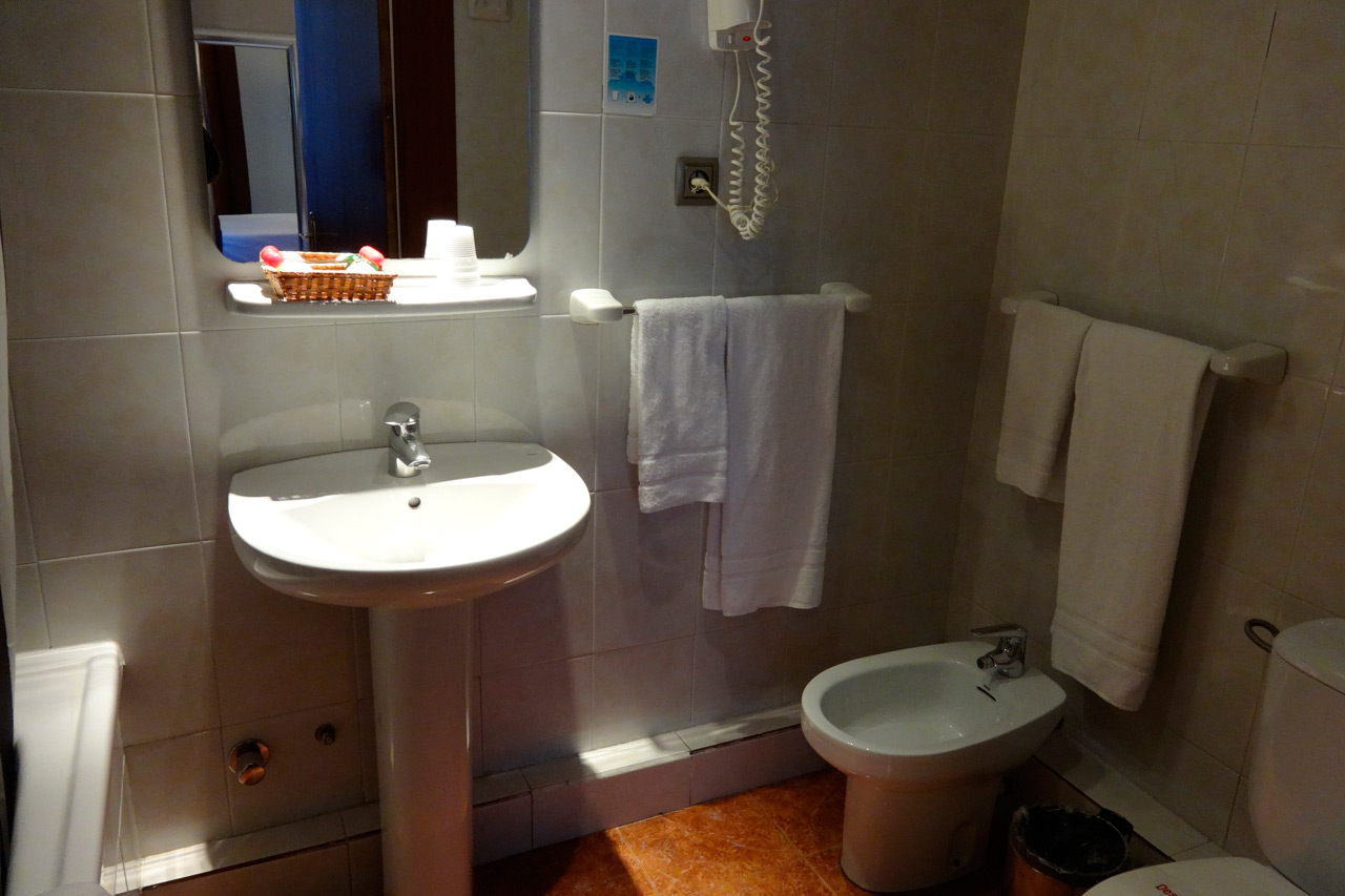 Bathroom of the double room